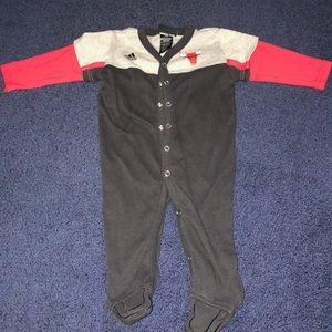 Size 6/9 baby adidas sleep and play